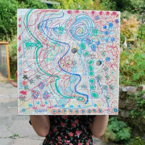 Drawing-in-the-garden